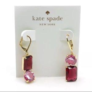 Nwt♠️Kate Spade Shine On Mismatched Drop Earrings